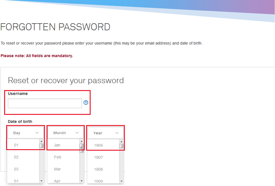 Telstra - I've forgotten my Telstra ID password - Support