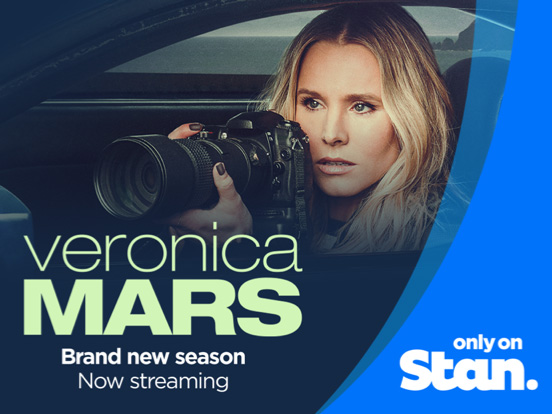 Stan offer with Telstra Plus Veronica Mars streaming on Stan Australia