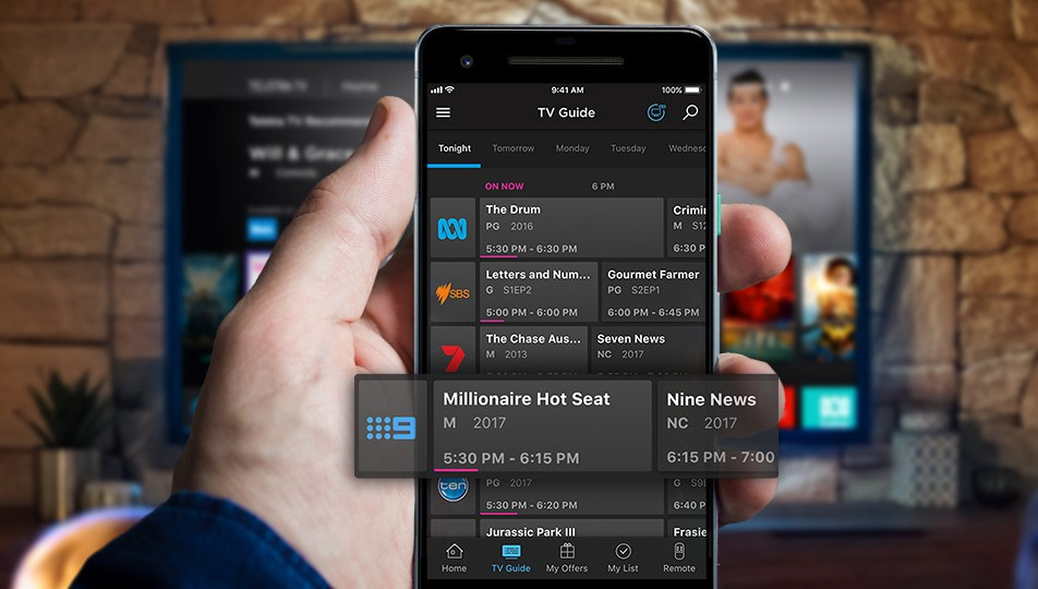 Telstra TV Plus features